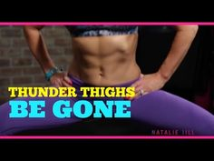 Get Lean, Toned Thighs - Thigh Blasting Workout - video