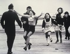"Burst of Joy is a Pulitzer Prize-winning photograph by Associated Press photographer Slava ""Sal"" Veder, taken on March 17, 1973 at Travis Air Force Base in California. The photograph came to symbolize the end of United States involvement in the Vietnam War, and the prevailing sentiment that military personnel and their families could begin a process of healing after enduring the horrors of war."
