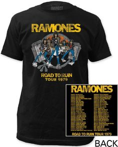 a1a1a44a Image result for road to concert t shirts Vintage Concert T Shirts, Concert  Tees,