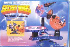 Mattel Marvel Secret Wars - Freedom Fighter (MISB)