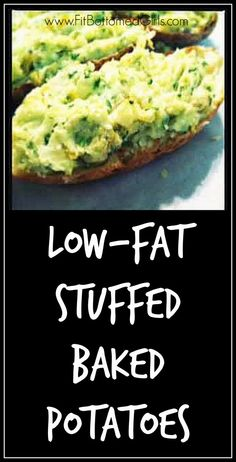 Tish's recipe for stuffed baked potatoes is beyond divine. | Fit Bottomed Girls