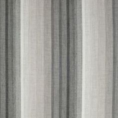 Marvelous Grey Striped Sheer Drapery Fabric   Sierra Platinum By Charles Parsons  Interiors #fabric #grey