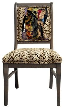 Miro Chairs Set of 6 - eclectic - chairs - los angeles - Sara Palacios Designs and Custom Furniture