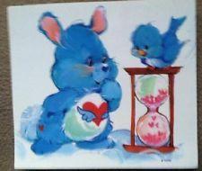 RARE Care Bears Cousins Swift Heart Rabbit Cartoon Bumper Sticker Decal