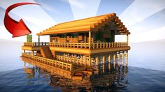 STARTER HOUSE IN MINECRAFT on the Water!