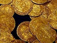 Archaeologists discovered 37 Byzantine gold coins, a gold ring and 5 gilt loops in a clay pot at Markely - a medieval fortress near Karnobat, Bulgaria.