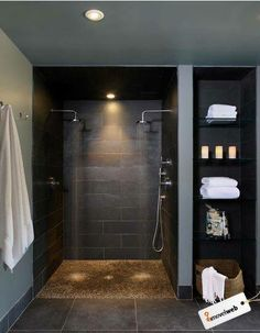 DOUBLE SHOWER HEADS!!!