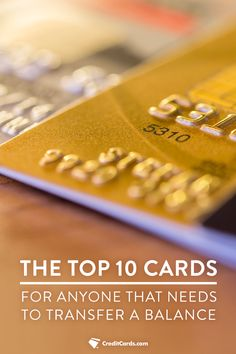Looking to transfer your balance to a card with less interest? Certain ones are better than others. CreditCards.com has thoroughly inspected every card out there and breaks down what ones are best for specific actions. Check out creditcards.com today and find the best card for your financial goals