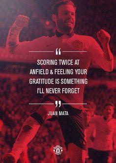 Juan Mata on North West Derby