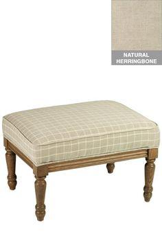 Marie Ottoman - Ottomans - Living Room Furniture - Furniture | HomeDecorators.com