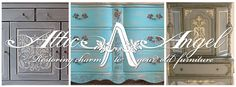 Attic Angel Retailer for Pure Earth Paint! Mineral paint, Painted furniture, Painted French Provincial Dresser