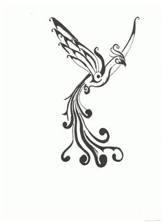 Phoenix Tattoo Draft One By Shockerloba On Deviantart Design 900x1238 Pixel