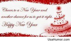 Cheers happy new year wish