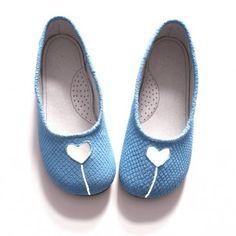 blue shoes :)