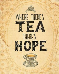 Tea and hope - hardtofind.