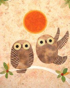 #kateendle #kate #endle owl paintings