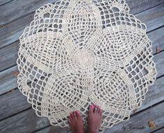 Crochet Rug Doily