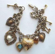 love charm bracelets!