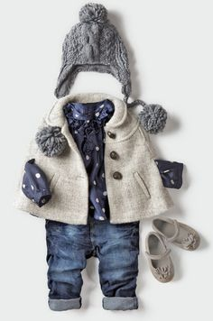 ZARA COLLECTION <3 cutest little girl fall outfit!!! @Emily Schoenfeld farrell this is so adorable!!