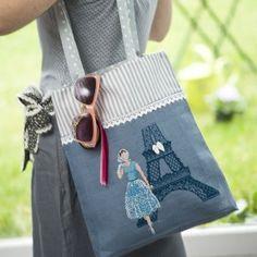 Name: multi-modern-stitch-work-bags. Embroidery Purse, Cross Stitch Embroidery, My Bags, Purses And Bags, Stitches Wow, Cross Stitch Cushion, Denim Purse, Cross Stitch Finishing, Work Bags
