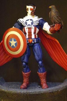 Sam Wilson: Captain America (Marvel Legends) Custom Action Figure