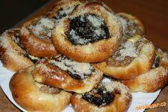 Czech Recipes, Russian Recipes, Challa Bread, Pastry Recipes, Cooking Recipes, Mexican Food Recipes, Sweet Recipes, Slovakian Food, Eastern European Recipes