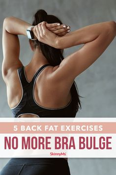 Our Back Fat Exercises- No More Bra Bulge workout is the perfect solution to make you feel confident in your favorite tank tops with toned and trimmed back muscles. Detox Cleanse For Bloating, Back And Shoulder Workout, Fitness Models, Fitness Tips, Blog Food, Best Diet Drinks, Weight Loss Tablets, Back Fat, Weight Loss Workout Plan