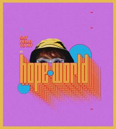 hope world tracklist Graphic Design Posters, Graphic Design Inspiration, Retro Graphic Design, Bts Wallpaper, Iphone Wallpaper, Poster Wall, Poster Prints, Kpop Posters, Pics Art