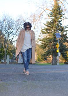 DIY Pearl Embellished Jeans - Tu Es Mon Tresor