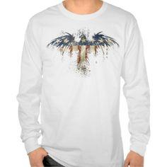 Patriotic Eagle Tee Shirts