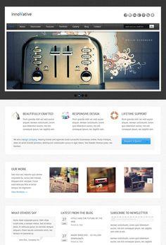 55+ Responsive Wordpress themes