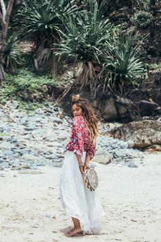 Mimi Elashiry Stars In Turquoise Lane Bohemian LooBook