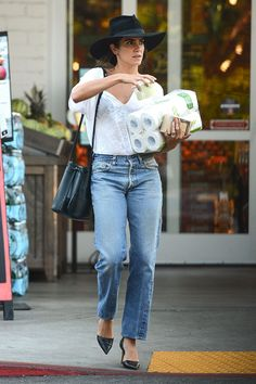 NIKKI REED Out Shopping in Los Angeles 07/28/2016