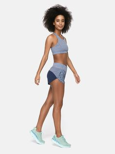 THE go-to short. Made in our lightweight quick-drying recycled polyester fabric featuring a comfortable knit waistband and built-in brief liner. Buttocks Workout, Sports Crop Tops, Clothing Staples, Poses, No Equipment Workout, Dress Me Up, Stylish Outfits, Active Wear, Clothes For Women