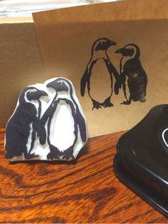 Penguin stamp                                                                                                                                                                                 More