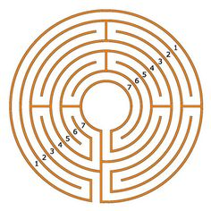 The 7-circuit Chartres labyrinth
