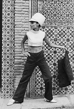 Clothing designed by Elio Berhanyer, 1965 by dovima_is_devine_II, via Flickr