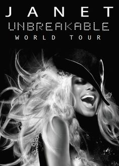 """Janet Jackson's """"Unbreakable"""" tops the Billboard chart, her seventh album to make the number one spot. (RHYTHM NATION / BMG) – Pop star Janet Jackson scored her seventh No. 1 album on the weekly U. Jo Jackson, Jackson Family, Michael Jackson, Jackson Music, Janet Jackson Unbreakable, The Jacksons, Tour Posters, Concert Tickets, Event Tickets"""