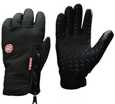 LinRin Outdoor Cycling Glove Touchscreen Smart Phone water resistant Gloves (M, black)  #Black #Cycling #Glove #Gloves #LinRin #Outdoor #Phone #Resistant #Smart #Touchscreen #Water CyclingDuds.com