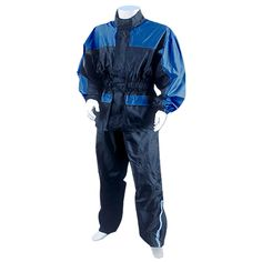 Motorcycle Rain Gear Blue RS5031HM On Sale!