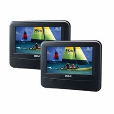 RCA 7 Inch Dual Screen Mobile DVD System http://www.giftgallore.com/product/96902_m/164_/RCA-7-Inch-Dual-Screen-Mobile-DVD-System-5284096902M.html