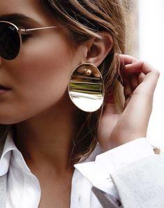 Les disques d'oreilles : les nouvelles créoles ! (photo Holly Titheridge)
