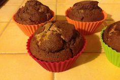 Muffins chocolat coeur de spéculoos