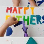 DIY Father's Day Banner (anche con altre scritte...)