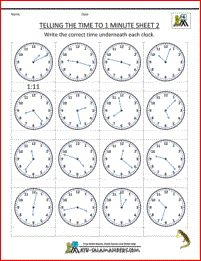 41 best time worksheets images on pinterest clock worksheets telling the time to 1 minute sheet 2 write in the correct digital times ibookread Read Online