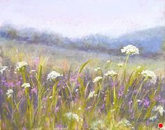 """Summer Colors#2 by Kathy McDonnell Pastel ~ 8"""" x 10"""""""