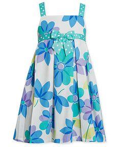 Bonnie Jean Girls Dress, Little Girls Floral Sundress - Kids Girls Dresses…