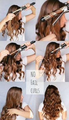 Easy Curls - Hairstyles and Beauty #Hair Style #hairstyle