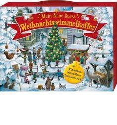 Mein Anne Suess Weihnachtswimmelkoffer: Mit Wimmelbuch, Mitmachbuch und Geschichtenbuch