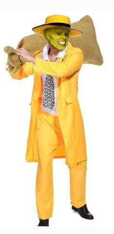 The Mask, Jim Carrey, Costume